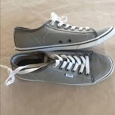 light gray vans womens vans shoes light gray ferris lo pro sneakers womens 8 poshmark