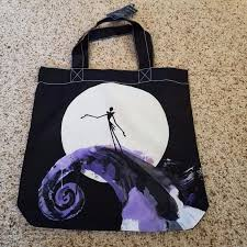 disney nightmare before skellington tote bag ebay