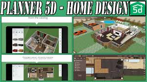 home design app 3d planner 5d home design android application youtube