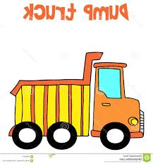 best yellow dump truck cartoon vector collection stock drawing