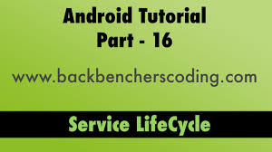 android service android service lifecycle tutorial