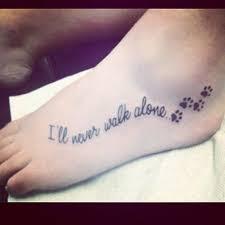the 25 best paw print tattoos ideas on pinterest dog tattoos