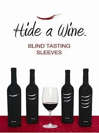 wine sets hide a wine blind tasting sleeves wine accessory