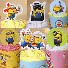 decoration cupcake anniversaire popular minion cupcake decorations buy cheap minion cupcake