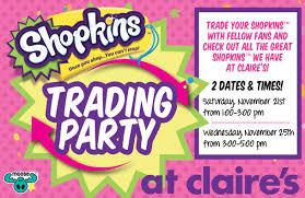 Galleria Mall Dallas Map by Claire U0027s Shopkins Trading Party Galleria Dallas