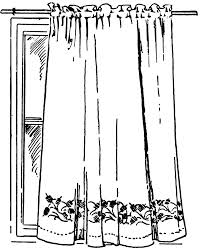 House And Furniture Bathtub Curtain Cliparts Free Download Clip Art Free Clip Art