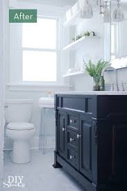 Painting A Bathroom Vanity Before And After by 278 Best Bathrooms Images On Pinterest Bathroom Ideas Bathroom