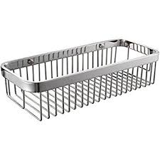 amazon com kes solid sus 304 stainless steel shower caddy bath