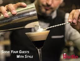 martini mixer buy elite cocktail shaker set bartender kit by barillio 24 oz