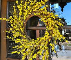 forsythia wreath forsythia wreath best 25 forsythia wreath ideas on diy