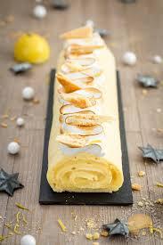 cuisine tarte au citron bûche roulée façon tarte au citron meringuée sucre d orge et