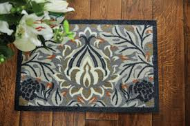 hug rug muddle mat floral doormat u0026 reviews wayfair