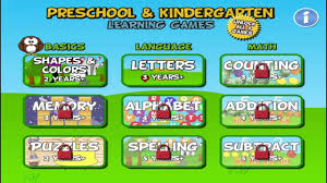 preschool and kindergarten learning games gameplay review free