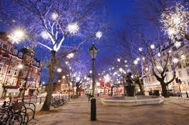 magical christmas tours christmas lights bike tour of london