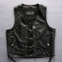 Cowhide Leather Vest Popular Harley Leather Vest Buy Cheap Harley Leather Vest Lots