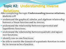 topic 2 understanding inverse relations ppt video online download