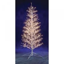 6 ft stick tree with 500 clear lights