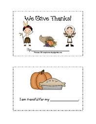 thanksgiving i m thankful for mini book tpt