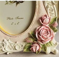 vintage rose photo frame home decor personalized gift buytra com