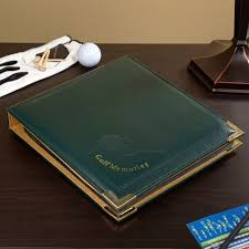 engravable photo album looking for a unique golf gift for that special golf enthusiast