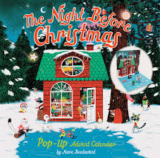 christmas advent calendar the before christmas pop up advent calendar marc boutavant