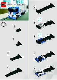 lego truck instructions racers lego truck instructions 30033 racers