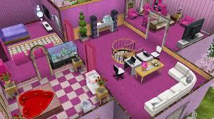 Sims Freeplay Beach House by House Pool Towel New York Back Of House Dusk 1721 Santa Barbara