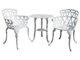 Outdoor Furniture Toronto by Windsor Cast Aluminum Bistro Set Insideout Patio Furniture