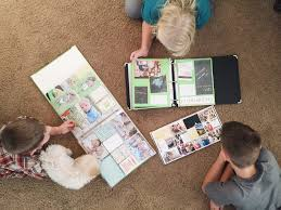 kids photo albums catching up on kids albums becky higgins scrapbooking