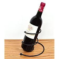 amazon com theopwine decorative wine bottle holder wine rack