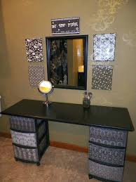 Diy Makeup Vanity With Lights Cheap Makeup Vanity Table U2013 Thelt Co