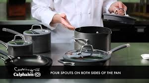 simply calphalon easy system nonstick cookware youtube