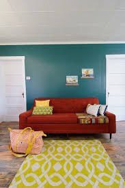 Teal And Red Living Room by Vibrant Trend 25 Colorful Sofas To Rejuvenate Your Living Room