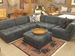 Charcoal Tufted Sofa by Best Sectional Sofas And Corner Black Leather Tufted Sofa With
