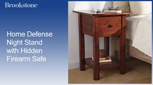 home defense night stand with hidden firearm safe youtube