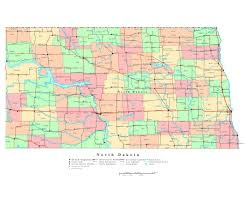 State Capitol Map by Maps Of North Dakota State Collection Of Detailed Maps Of North