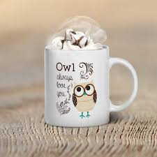 owl mug owl coffee mug owl mug owl coffee mug gift owl gifts