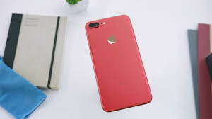 new red iphone 7 unboxing youtube