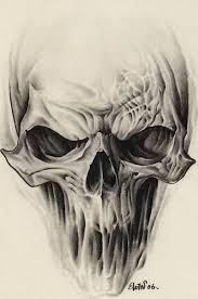 skull drawing ideas clipartxtras