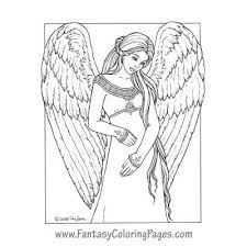 182 best fairies angels coloring pages images on pinterest
