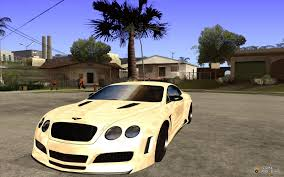 bentley 2008 bentley continental gt 2008 premier v 2 0 for gta san andreas