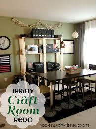 Organize A Craft Room - thrifty craft room redo
