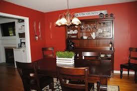 red dining rooms dark dining room to bright home office makeover reveal