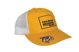 bureau hat kek on predsnhl um that s a farm bureau hat
