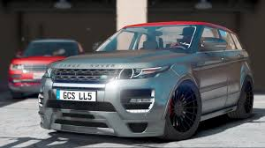 land rover range hamann land rover range rover evoque add on gta5 mods com