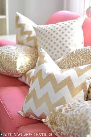 pink couch gold accents picmia