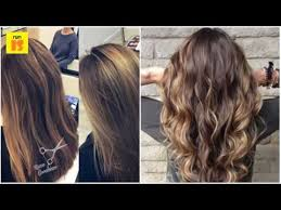 hair frosting for dark hair technique for creating brown hair with blonde highlights
