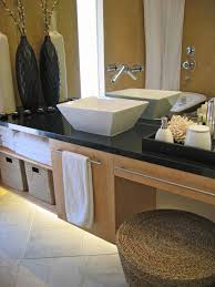 optimize your bathroom storage hgtv install a cabinet organizer