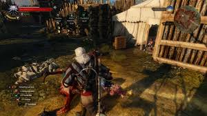 the witcher 3 velen abandoned site 02 nilfgaardian fort at