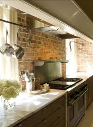 faux kitchen backsplash kitchen best 20 faux brick backsplash ideas on white